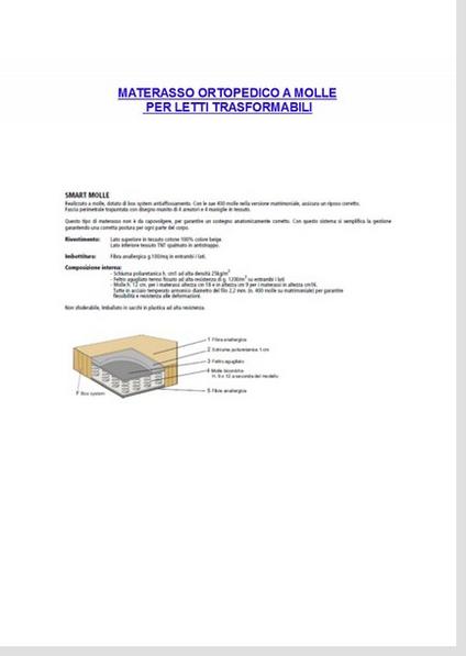 Dimensioni Materassi.Dimensioni E Misure Per Materassi Letti Clei Roma Letti